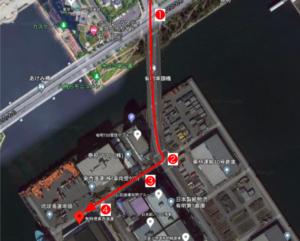東京有明港_地図
